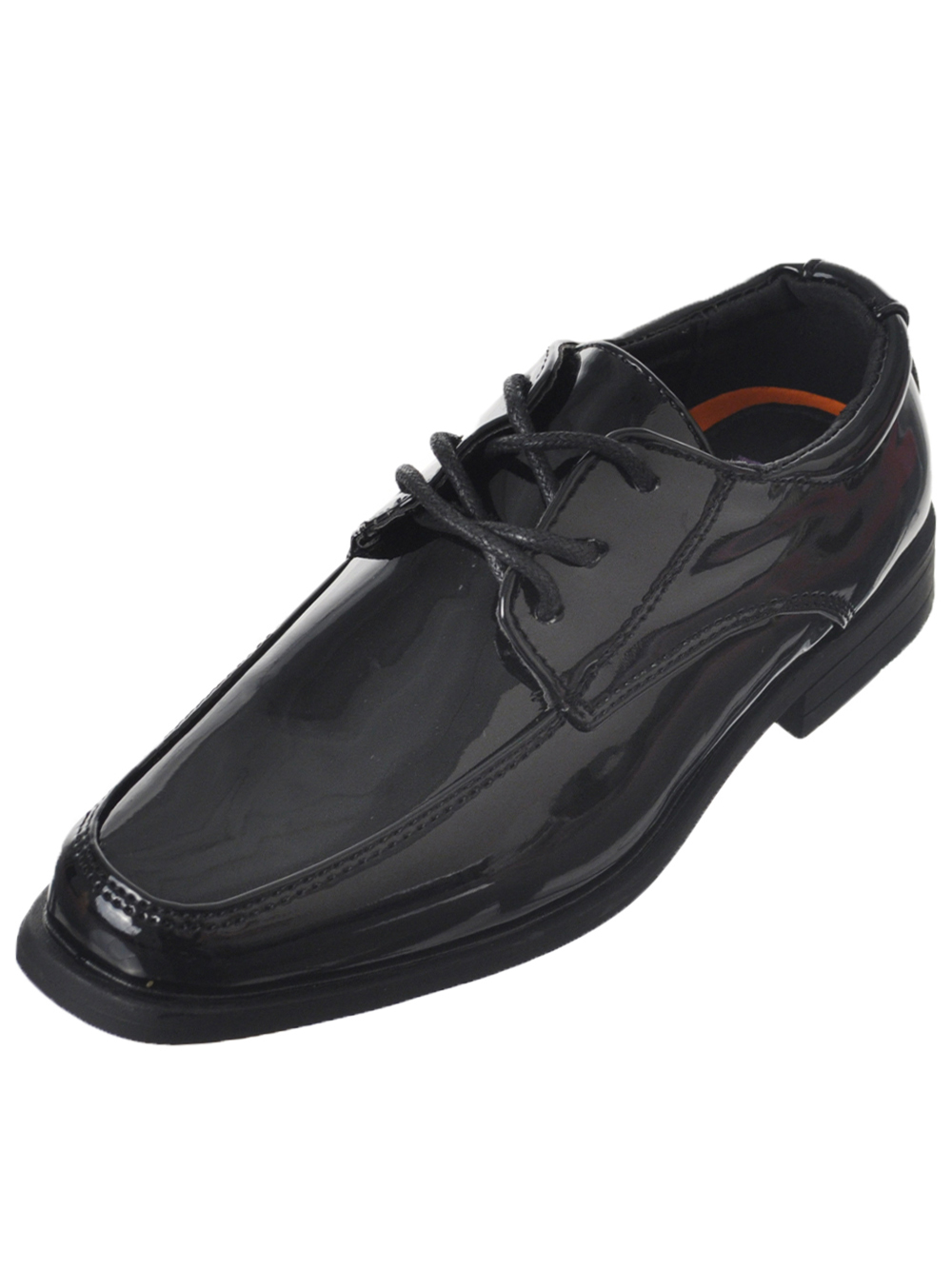 Jodano Collection Boys' Dress Shoes (Youth Sizes 13 - 8)