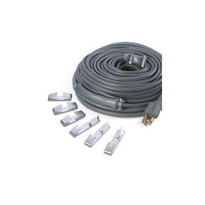 Wrap On 14100 Grey 100' Roof and Gutter De-Icing Cable 120V