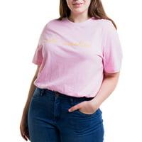 Heartbreak Juniors' Plus Size Crewneck Graphic T-Shirt