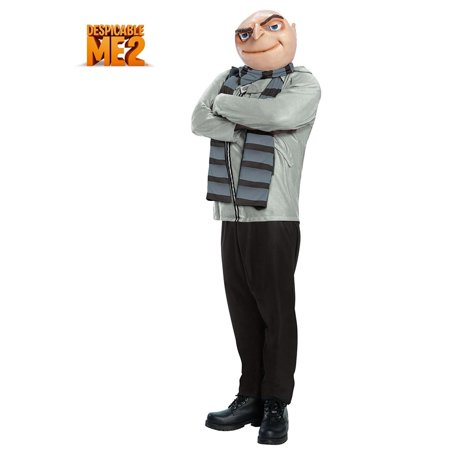 Despicable Me Plus Size Gru Costume (Gru Costume Scarf)