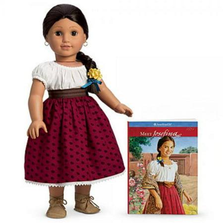american girl josefina doll and paperback book. Black Bedroom Furniture Sets. Home Design Ideas