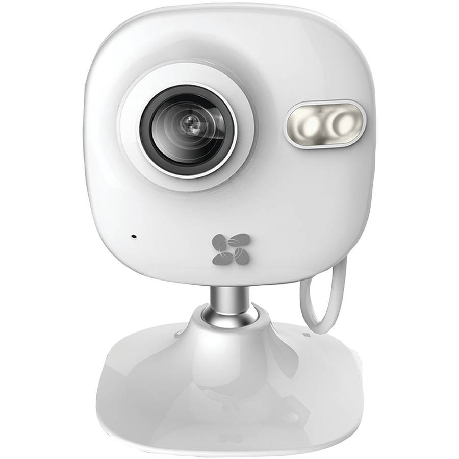 Ezviz Mini 720p Indoor WiFi Camera with 16GB SD Card and 12 - Month Subscription to 7 - Day Cloud Recording