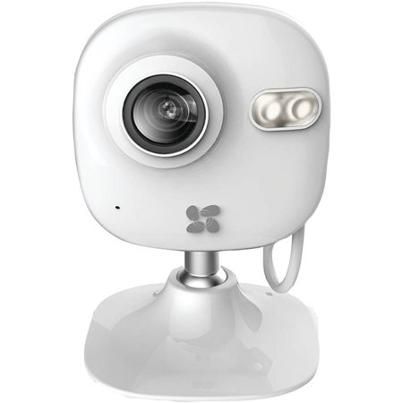 Ezviz Mini 720p Indoor WiFi Camera with 16GB SD Card and 12-Month  Subscription to 7-Day Cloud Recording