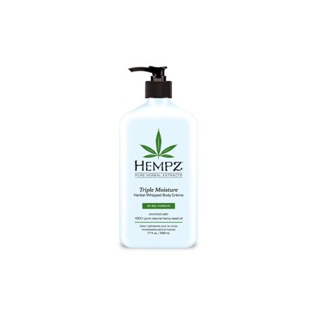 Hempz Triple Moisture Herbal Whipped Body Crème -17 oz.
