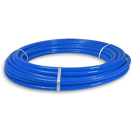 Blue Tubing - Pexflow PFW-B34100 Pex Tubing, Potable Water Blue, 3/4