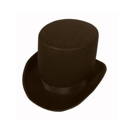 Coachman Victorian Costume Top Hat Tall Coachman Top Hat Victorian - Coachman Top Hat