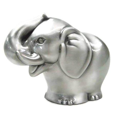 Elegance Heim Concept Pewter Plated Elephant bank