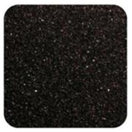 Sandtastik Floral Colored Home Decorative Sand 2 lb (909 g) Bag - Black