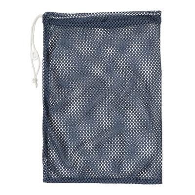 "Champion Sports 12x18"" Heavy Duty Nylon Mesh Equipment Bag w  Drawstring, Navy by Champion Sports"
