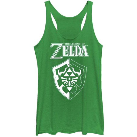 Nintendo Women's  Shield - Racerback Womens Tank Envy