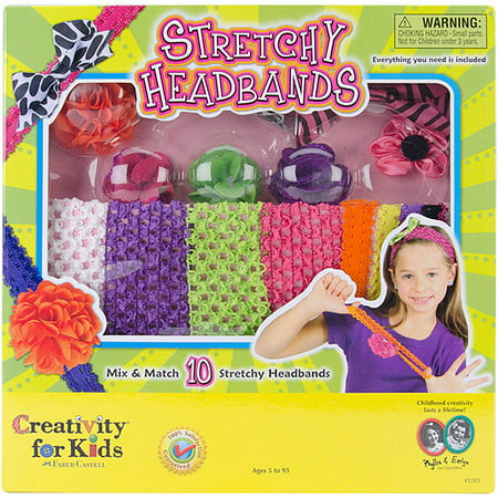 Stretchy Headbands - Craft Kits by Creativity For Kids (1283)