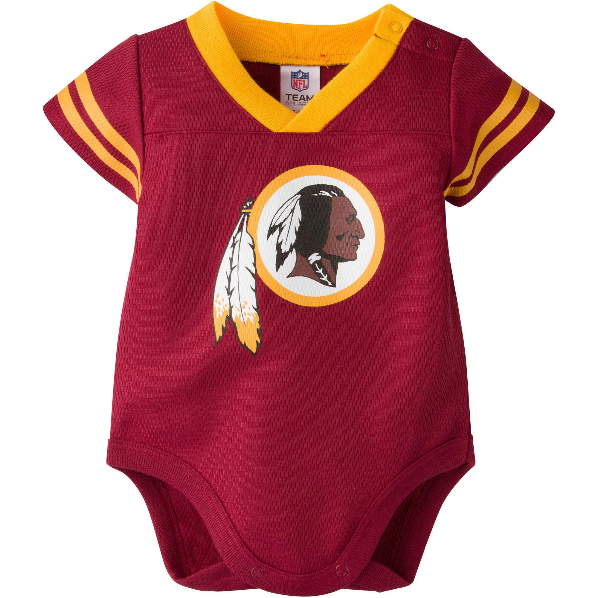 NFL Washington Redskins Baby Boys Mesh Dazzle Bodysuit