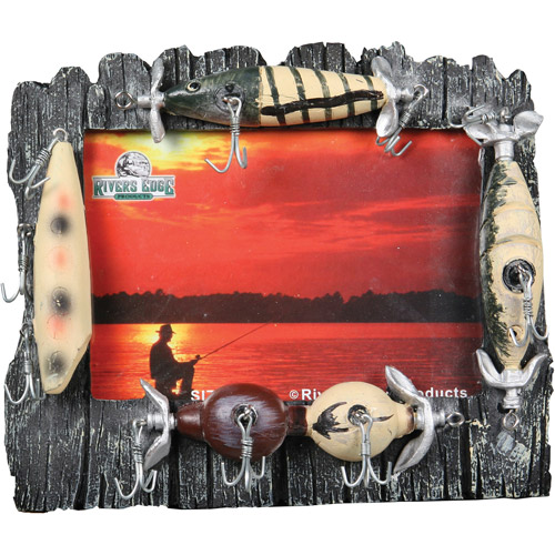 "Rivers Edge Products 4"" x 6"" Lure Picture Frame"