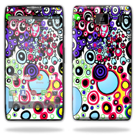 Mightyskins Protective Skin Decal Cover for Motorola Droid Razr Hd & Razr Maxx HD Cell Phone wrap sticker skins Circle