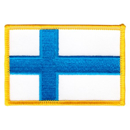 Finland Ribbons - Finland Rectangular Patch