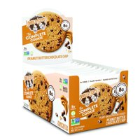 (Price/Case)Lenny & Larry's Complete Cookie 83227 Peanut Butter Chocolate Chip Complete Cookie 2 Ounce 6-12-2 Ounce