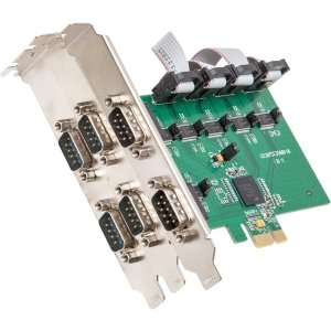 6Port Pci E Card Rs 232 Serial Revision 2 0 With Exar Chipset