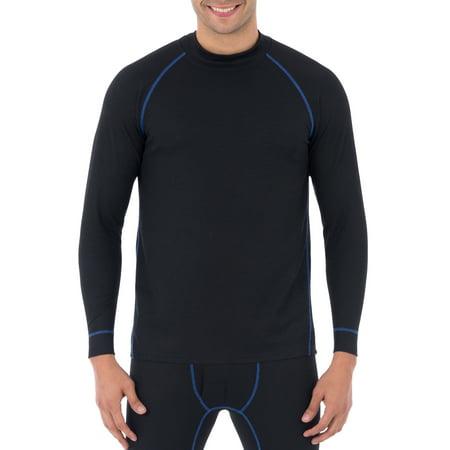 Polypropylene Base Layer - Russell Mens Tech Grid Baselayer Performance L3 Thermal Shirt