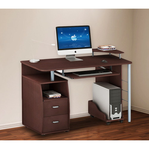 Merax Computer Desk With 2 Drawers Walmart Com