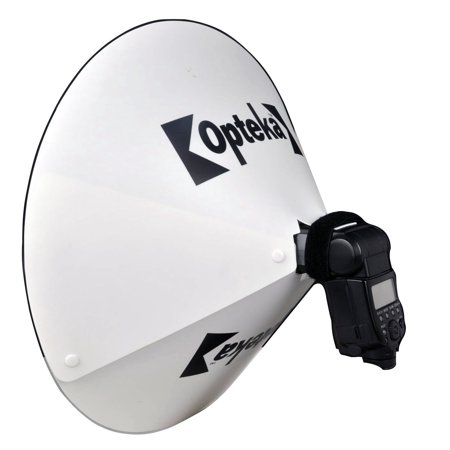 Opteka BD-10 Studio 23-Inch DSLR Digital Camera Dish Dome Flash Portrait Shadow Reflector Diffuser Diverter Studio Light for Panasonic DMW-FL28 DMW-FL220 DMW-FL360 DMW-FL500 DMW-FL580 DMWFL28