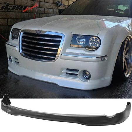 Fits 05-10 Chrysler 300 300C ED VIP Style Front Bumper Lip Chin Spoiler-Urethane