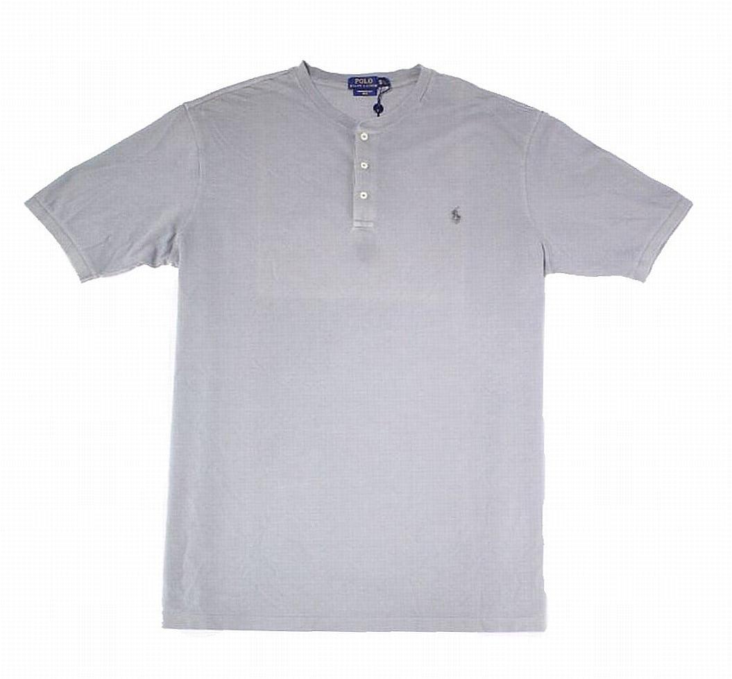 Polo Ralph Lauren - Polo Ralph Lauren NEW Gray Mens Size 4XLT Big & Tall Mesh Henley Shirt - Walmart.com