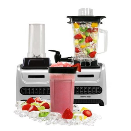 The Sharper Image Personal and Pitch Blender, 1000-watt, Silver