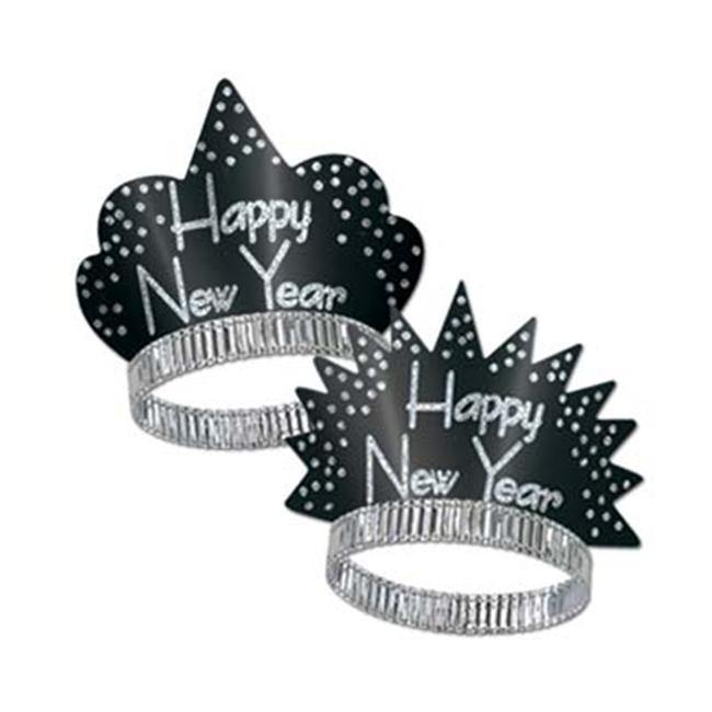 Sparkling Silver Tiaras (Pack of 50)