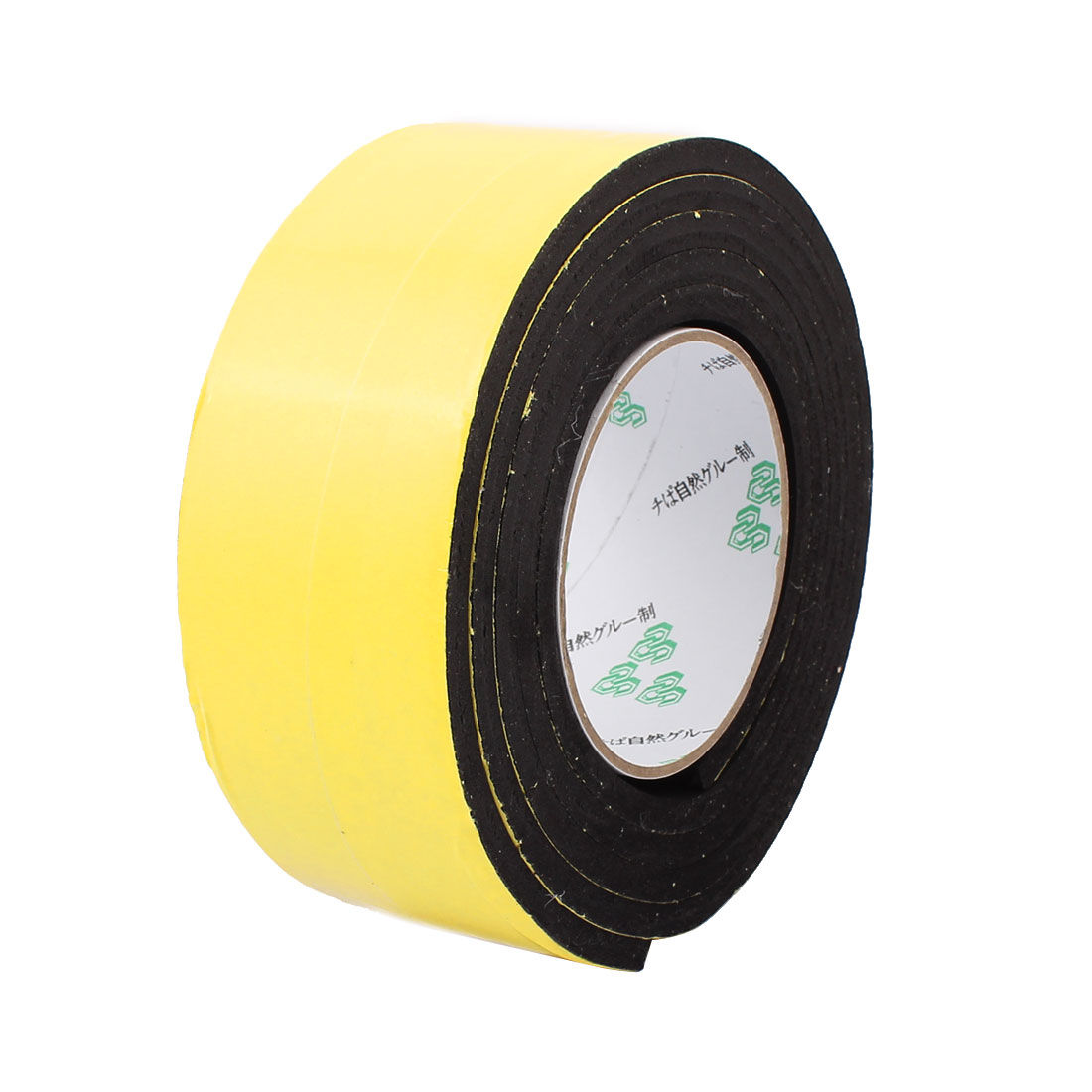 55mm x 6mm Single Sided Self Adhesive Shockproof Sponge Foam Tape 2M Length