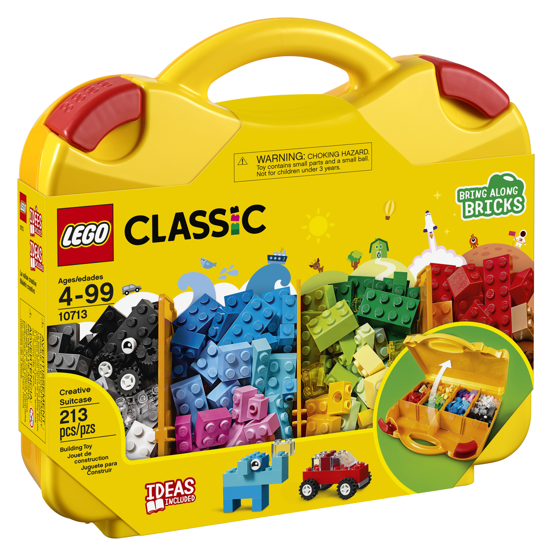 LEGO Classic Creative Suitcase 10713 Building Kit (213 Piece)