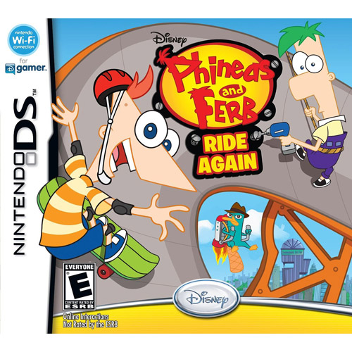 Phineas and Ferb  Ride Again (DS)