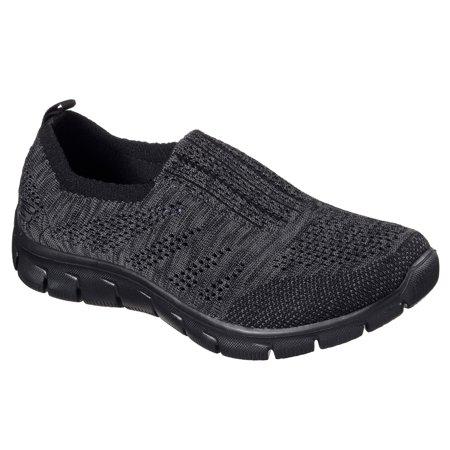 0e13ad61a2cf Skechers - Skechers 12419BKCC Women s EMPIRE - INSIDE LOOK Walking Shoes -  Walmart.com