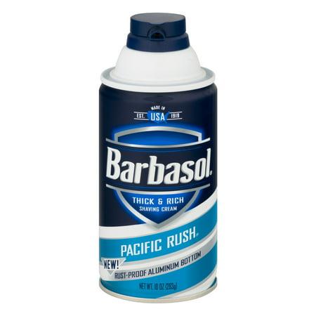 Pacific Rush épais et riche crème à raser pour les hommes 10 onces