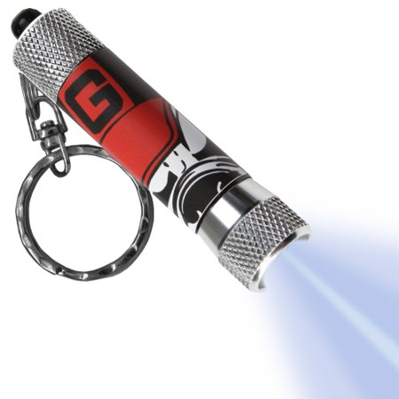 Georgia Bulldogs LED Flashlight Logo Keychain - No Size