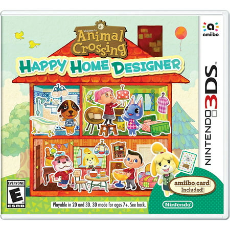 Animal Crossing: Happy Home Designer, Nintendo, Nintendo 3DS, [Digital Download], - Animal Crossing New Leaf Halloween Room