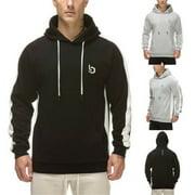 New  Men Autumn Winter Sweatshirt Hoodie Pullover Hoody Cotton Plain Design Jumper Casual Coat Top