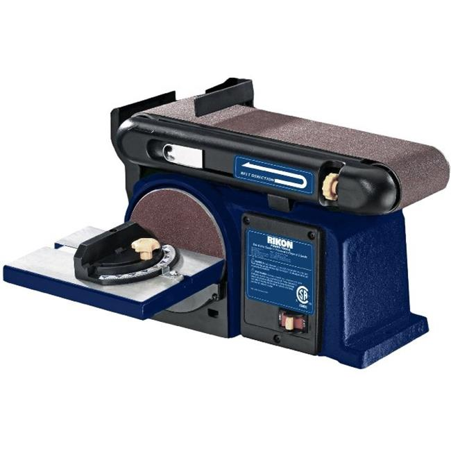 Rikon Power Tools 50-112 4 in. x 36 in. Belt Disc Sander, 6 in.