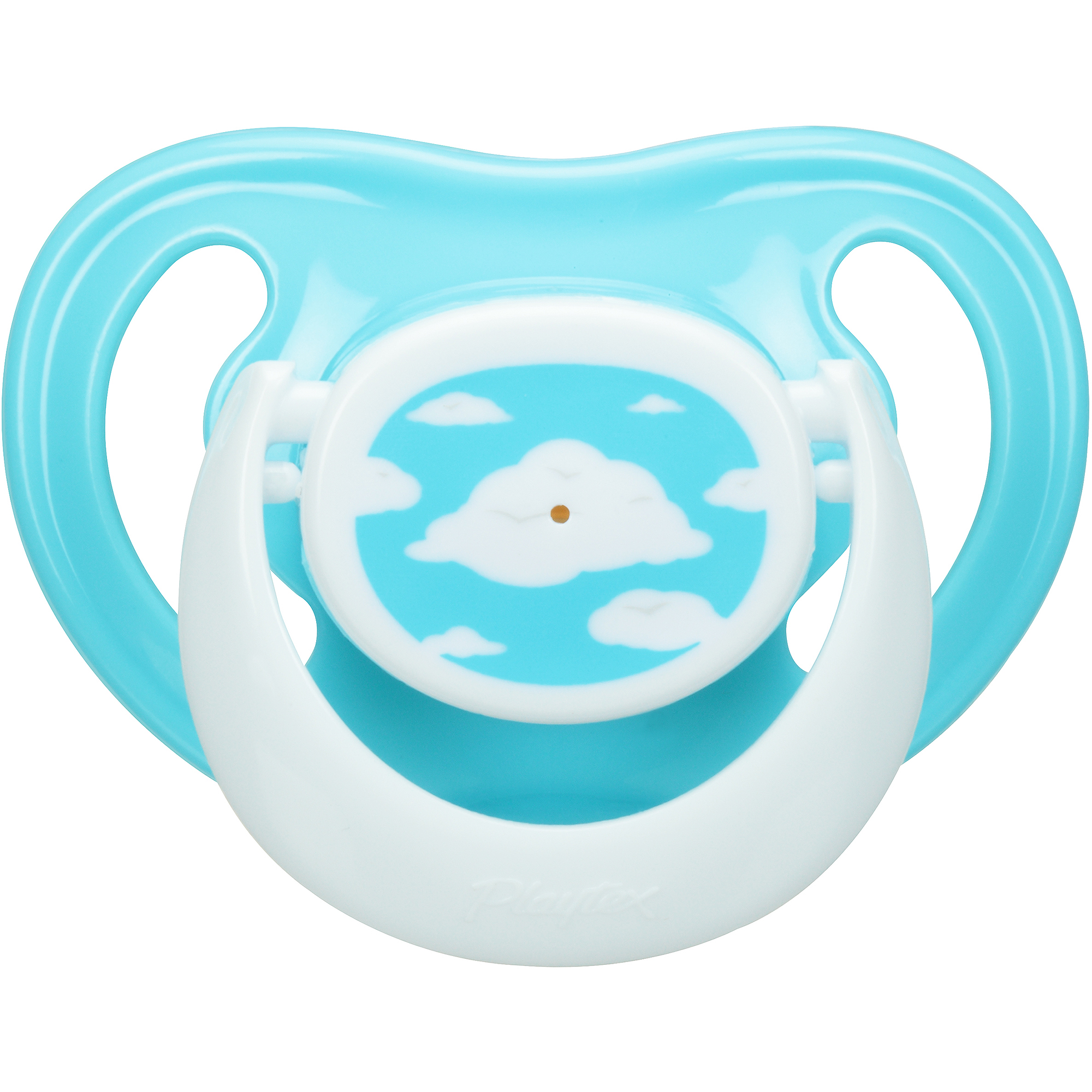 Playtex Ortho-Pro Pacifier, Newborn (0-6), 2-Pack, BPA-Free (Design May Vary)