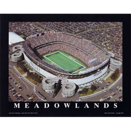Mike Smith Meadowlands NY Jets at Giants Stadium Poster Print by Mike Smith (10 x 8) - Ny Giants Decor