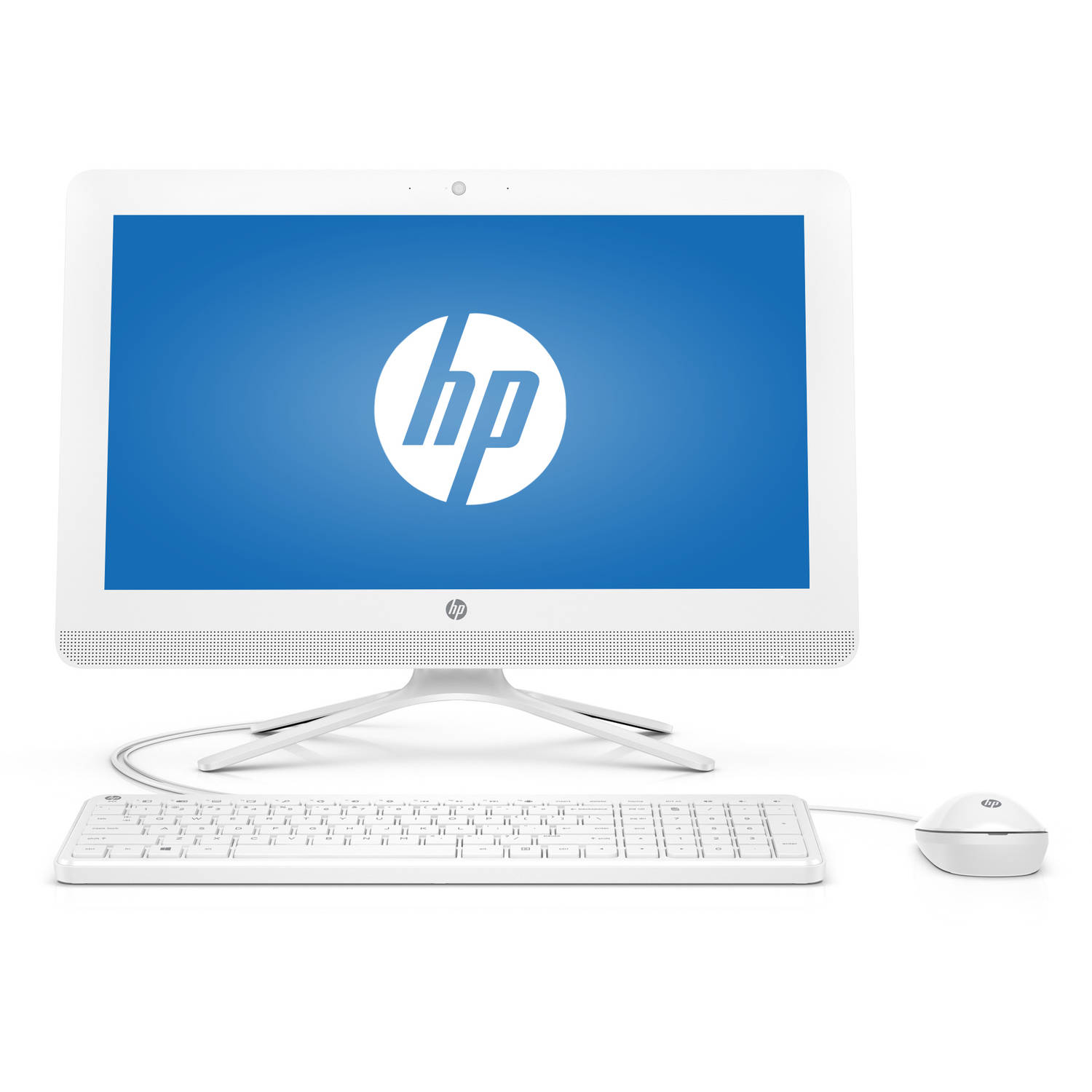 HP 24-g016 All-in-One Desktop PC with Intel Pentium J3710...