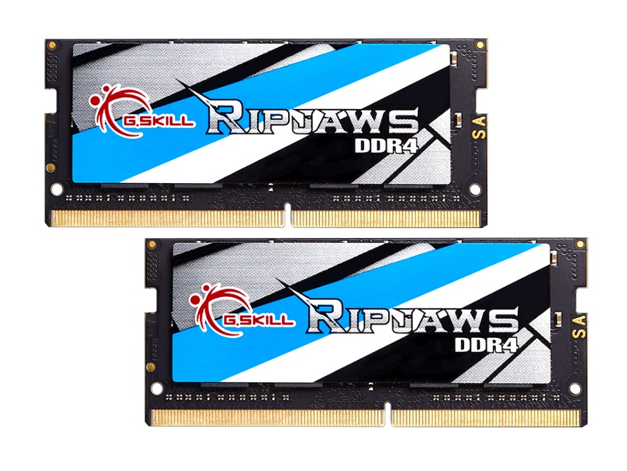 32GB G.Skill 2400MHz DDR4 SO-DIMM Laptop Memory Upgrade Kit (CL16) 1.20V PC4-19200 Ripjaws 2x16GB