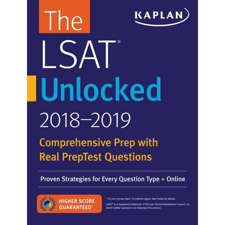 LSAT Unlocked 2018-2019 : Proven Strategies For Every Question Type + Online