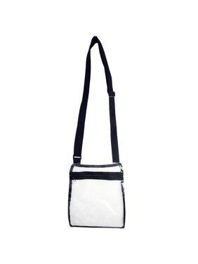 29c857dc534c01 Product Image Clear Cross Body Bag See-Thru Jelly Messenger Purse Stadium  Concert Transparent