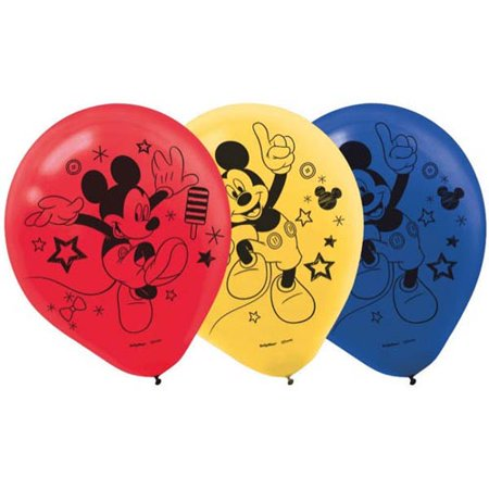 Mickey Mouse 'Roadster Racers' Latex Balloons (6ct)
