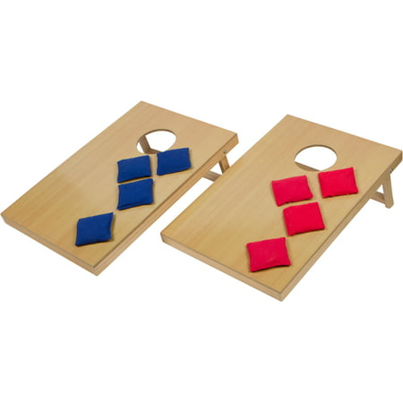 16u0022 Mini Tabletop Bean Bag Toss Game For Indoor Use ? by Trademark Innovations