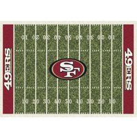 San Francisco 49ers Imperial 8' x 11' Homefield Rug
