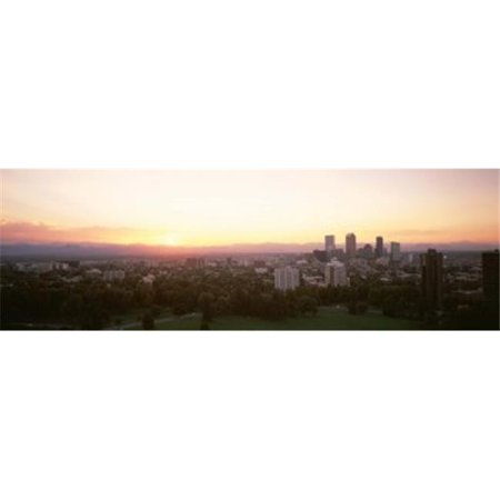 Panoramic Images Ppi76842l Denver Co Poster Print By Panoramic Images   36 X 12