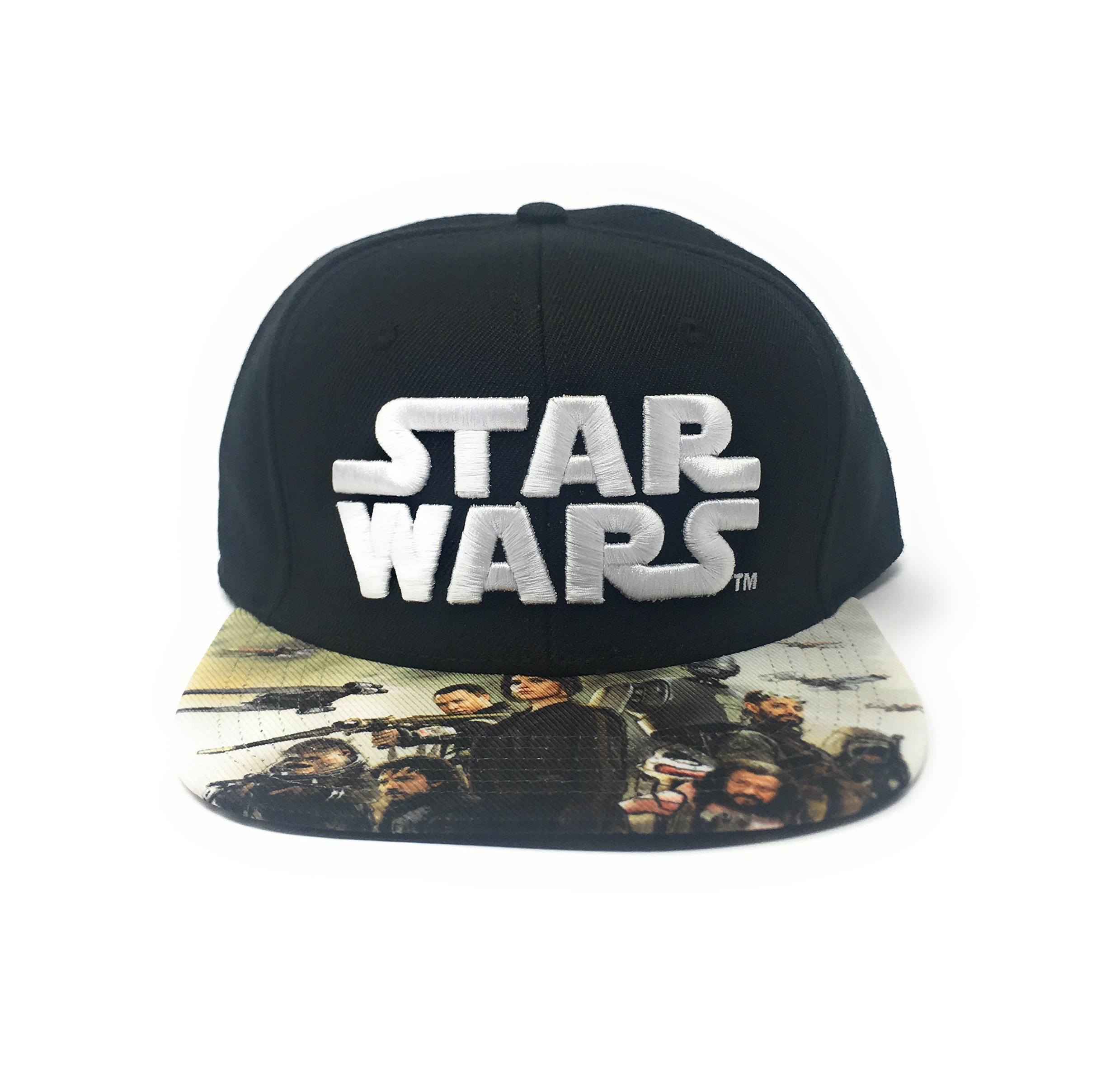 a47dc2b5241 Bioworld Licensed Star Wars - Rogue One - Sublimated Brim Black ...
