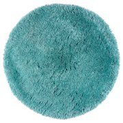 Rizzy Home Commons Hand Tufted Area Rug 3 Ft X3 Round Aqua