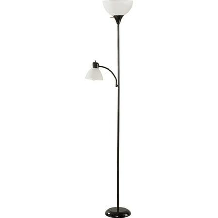 72quot floor lamp combo walmartcom for Combination floor lamp and reading lamp